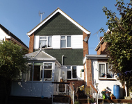 Detached property near Southend
